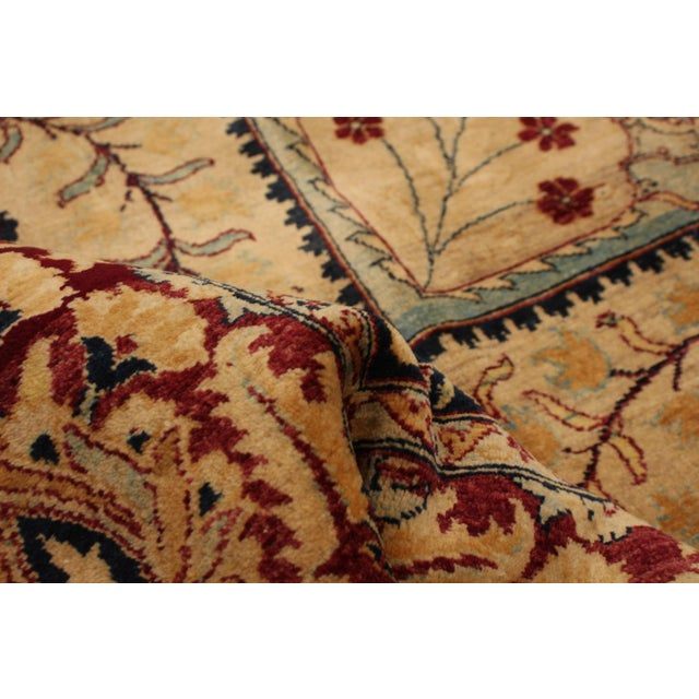 Textile Classic Hand-Knotted Rug For Sale - Image 7 of 9
