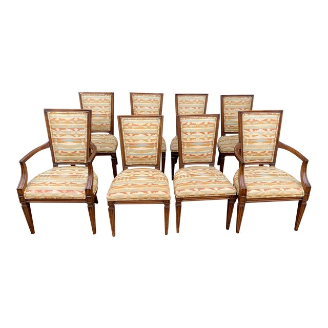 Classic Vintage Louis Dining Chairs - Set of 8 For Sale