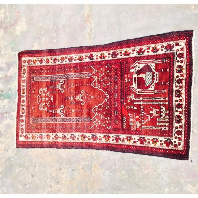 Baluchi Persian Handmade Rug - 2′6″ × 4′6″ - Image 2 of 9