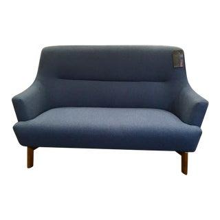 Mid Century Style Scandinavian Design Hillary Loft Sofa For Sale