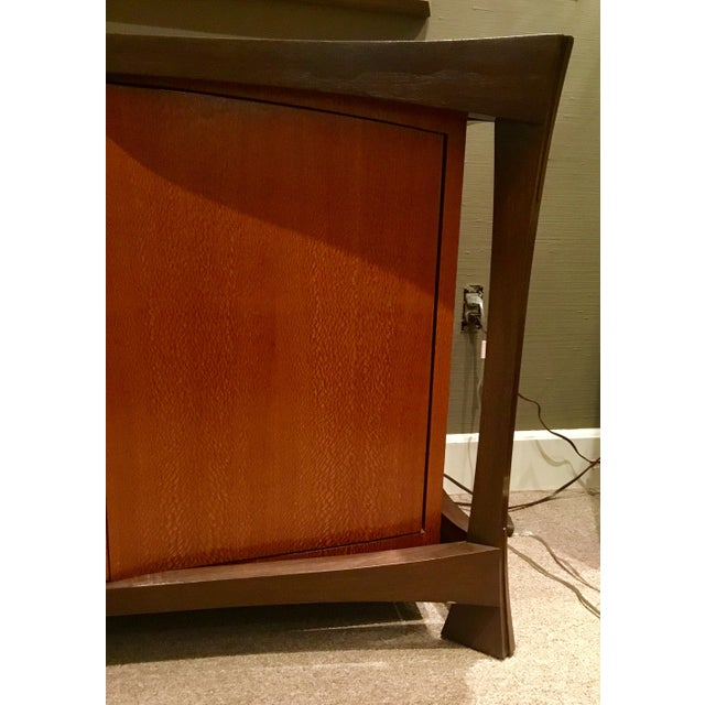 2010s Sculptural 2-Toned Sideboard For Sale - Image 5 of 9