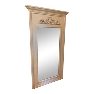 French Provincial Style Custom Floor Mirror For Sale