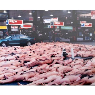 """23rd Street"" Photography C-Print by Spencer Tunick For Sale"