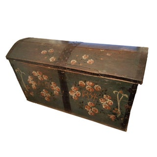 Antique Swedish Hope Chest For Sale
