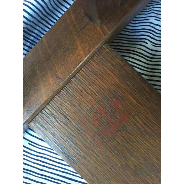Gustav Stickley Antique Side Chair - Image 6 of 7