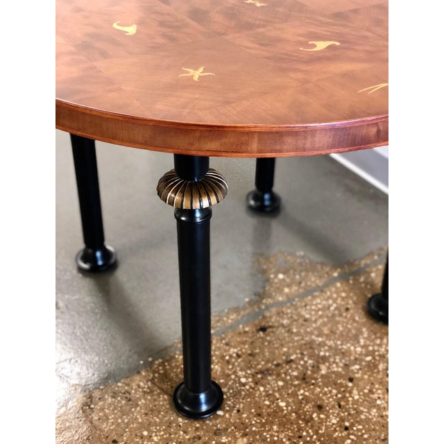 Mid-Century Modern Neoclassic Coffee Table, Circa 1920 For Sale - Image 3 of 10
