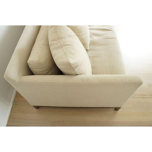 Cisco Home Flax Linen Sofa - Image 8 of 10
