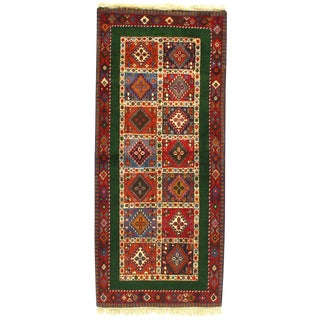 "Pasargad N Y AliAbad Persian Yalameh Rug - 2'7"" x 6'7"" For Sale"