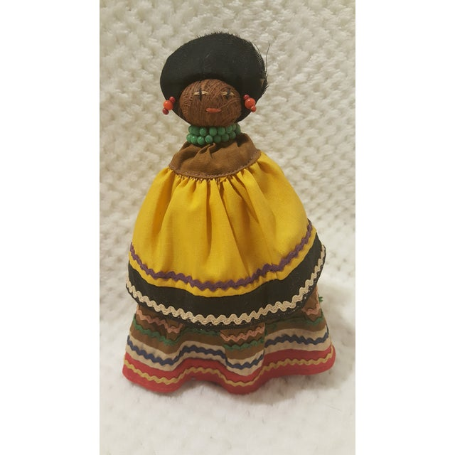 Vintage Seminole Indian Straw Doll For Sale - Image 5 of 5