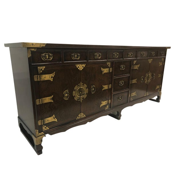 Such a beautiful credenza purchased at the Tokyo American Club Asian Furniture Sale at least 15 years ago and the piece...