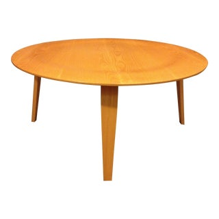 1990s Mid-Century Modern Herman Miller Eames Plywood Coffee Table For Sale