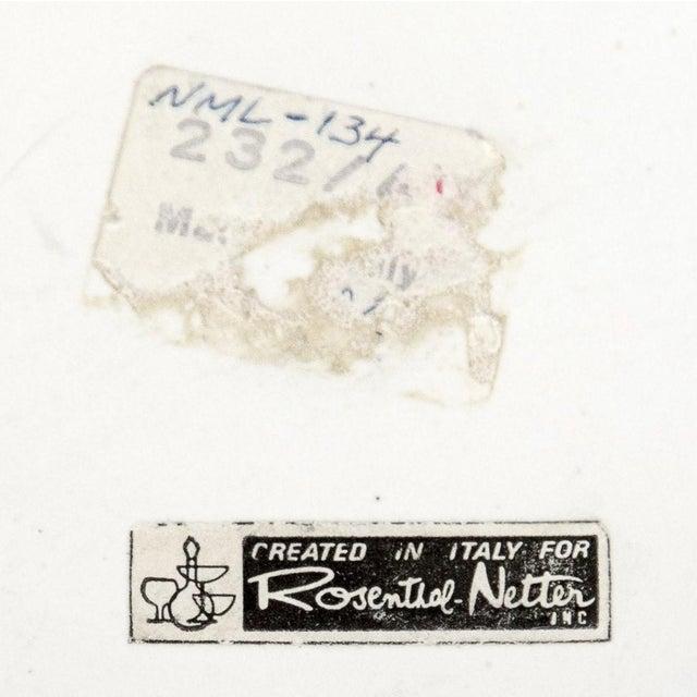 White Bitossi for Rosenthal Netter Vase For Sale In Chicago - Image 6 of 8