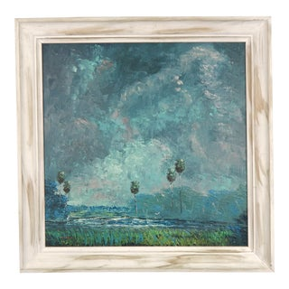 St. Lucie River in Moonlight, by C. Wheeler For Sale