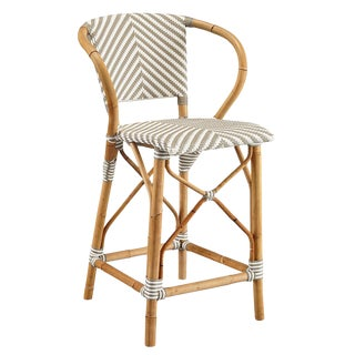 Pearl Counter Stool, Grey For Sale