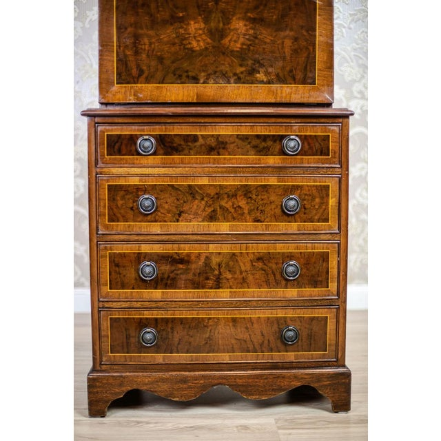 Brown Late 19th-Century Secretary Desk For Sale - Image 8 of 13
