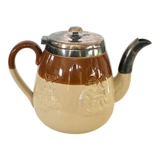 19th C. Individual English Teapot For Sale