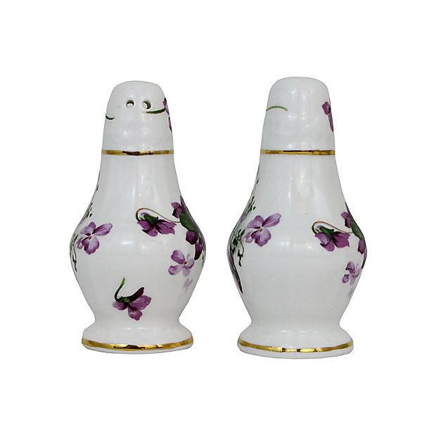 Lilacs Salt & Pepper Shakers - A Pair - Image 3 of 6