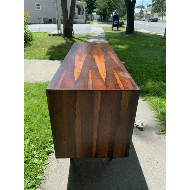 Mid-Century Modern Mid-Century Svend Madsen for Falster Compact Rosewood Credenza For Sale - Image 3 of 13