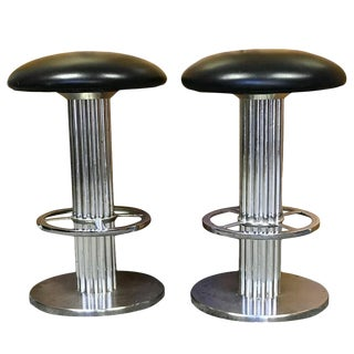 Bar Stools Design for Leisure Bar Stools - a Pair For Sale