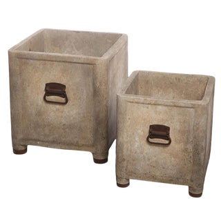 French Square Box Planters For Sale