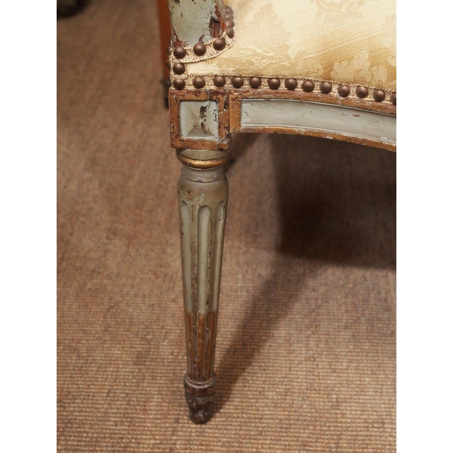 18th Century Set of Six Transition Armchairs Stamped F.Geny For Sale In New Orleans - Image 6 of 11
