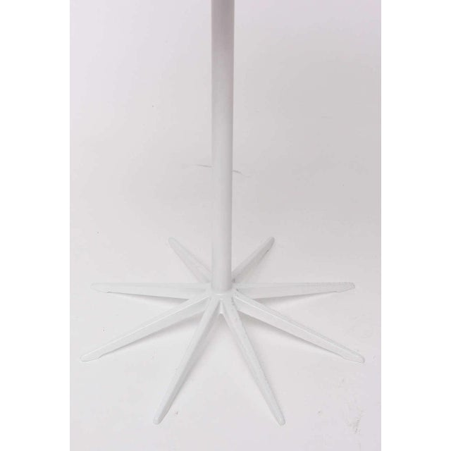 Metal Pair of Richard Schultz Petal Side Tables For Sale - Image 7 of 10