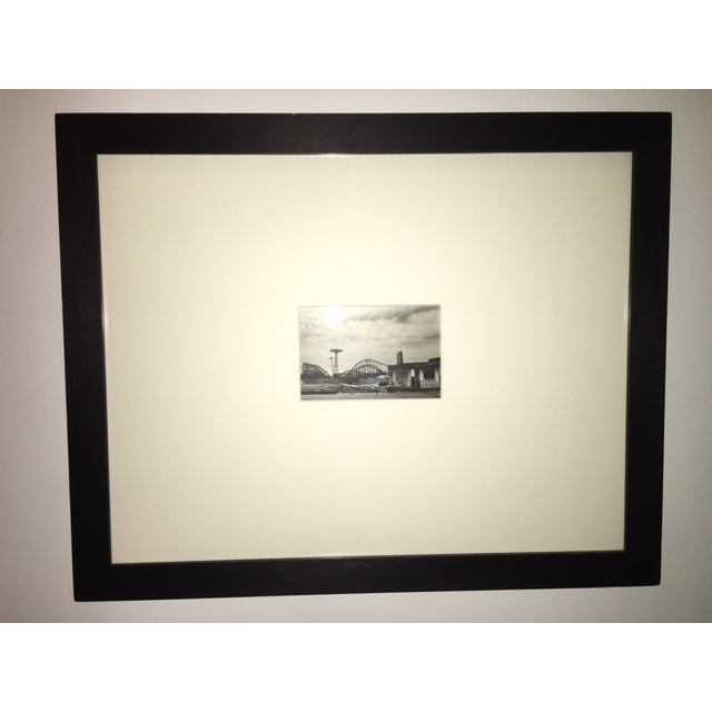 Beautiful crisp and clear image of iconic Coney Island by contemporary photographer Anita Chernewski. Number 10/25. Her...