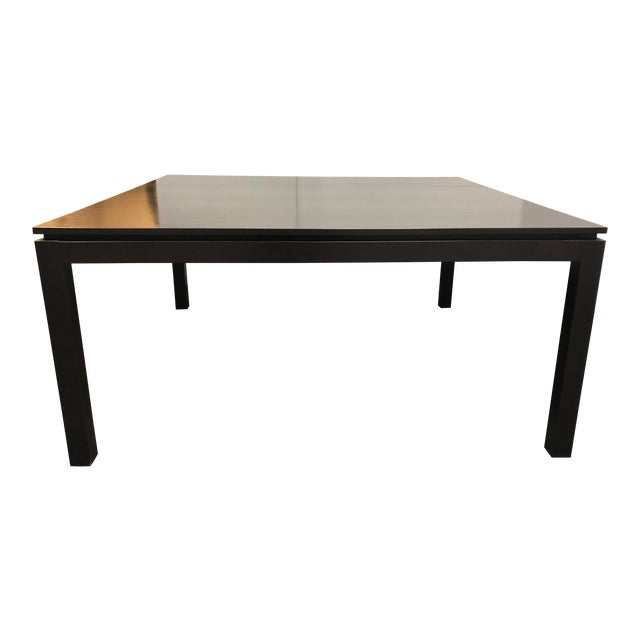 Contemporary Custom Square Oak Dining Table For Sale