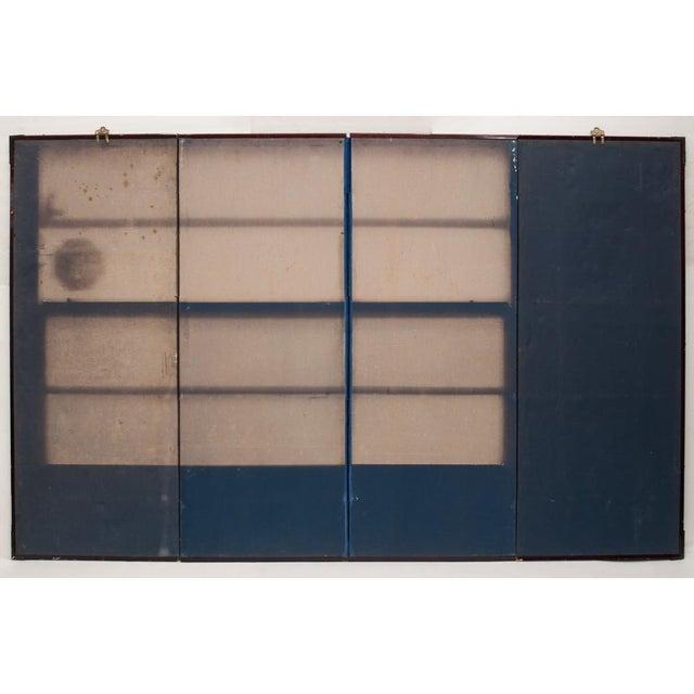 Late Meiji Era Ukiyo-E Style Large Japanese Screen For Sale - Image 9 of 11