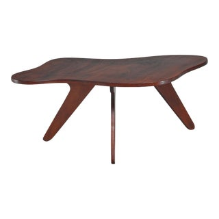 José Zanine Caldas Free Form Coffee Table, Brazil For Sale
