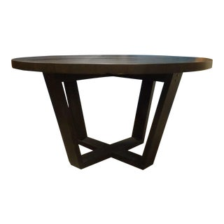 Contemporary Round Modern Dining Table For Sale