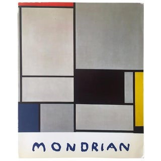 Piet Mondrian Rare Vintage 1965 1st Edition Collector's Galerie Beyeler Exhibition Lithograph Print Art Book For Sale