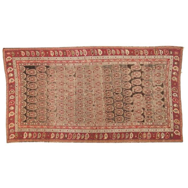 """Antique Karabagh Carpet - 5'2"""" x 9'4"""" For Sale - Image 11 of 11"""
