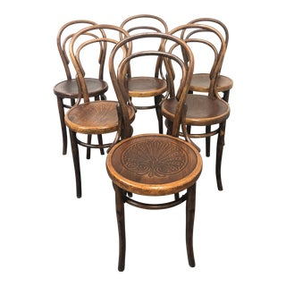 1970s Thonet Brentwood Dining Chairs - Set of 6 For Sale