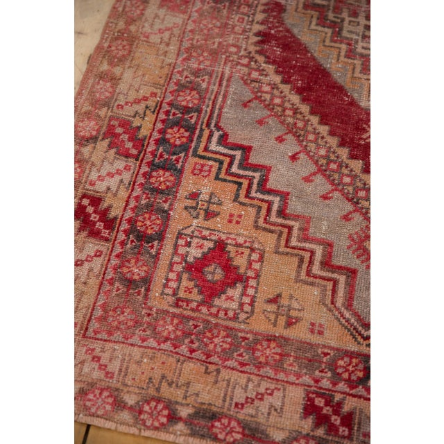 "Boho Chic Vintage Distressed Oushak Rug - 3'8"" X 5'8"" For Sale - Image 3 of 12"