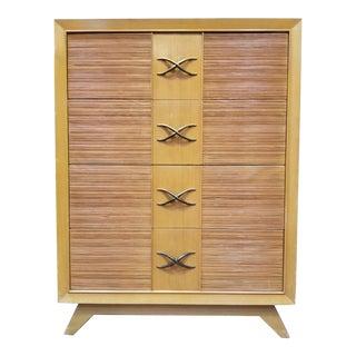 Paul Frankl for Brown-Saltman Tall Highboy Dresser For Sale