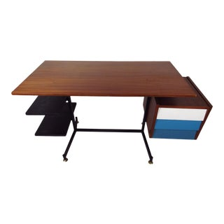 Vintage Modern Desk in the Style of George Nelson For Sale
