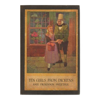 """1905 """"Ten Girls From Dickens"""" Collectible Book For Sale"""