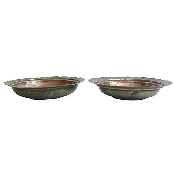 Egyptian Copper Bowls - a Pair - Image 4 of 5