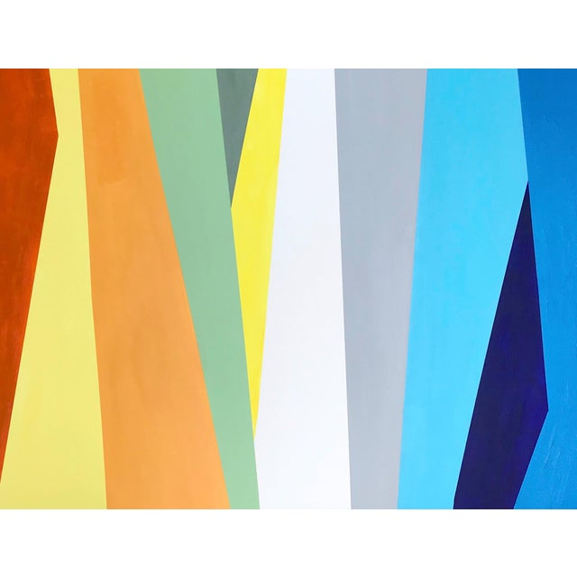 2010s 'Prismatic' Original Abstract Painting by Linnea Heide For Sale - Image 5 of 8