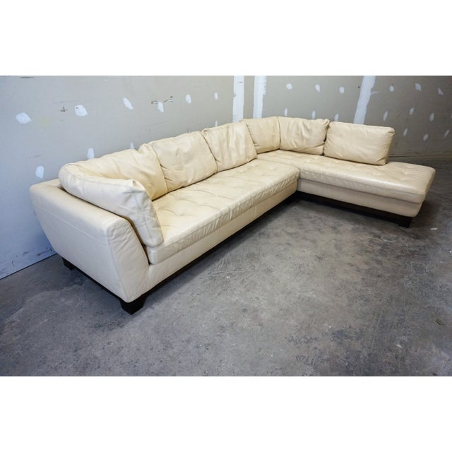 sectial leather room ideas living couch cream