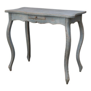 19th Century Painted Swedish Console