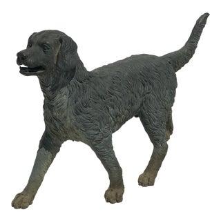 Antique Bronze Dog Retriever For Sale