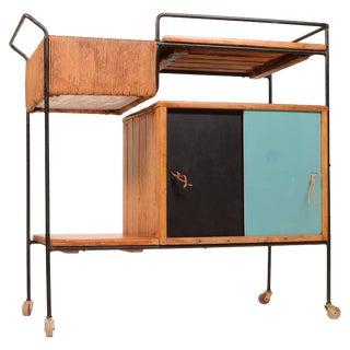 Arthur Umanoff Bar Cart For Sale