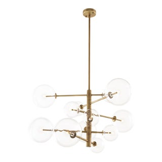 Brass Sputnik Chandelier | Eichholtz Argento S For Sale