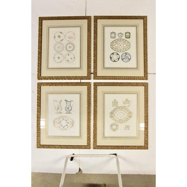 Sevres Porcelain Illustrated Plates, S/4 For Sale - Image 9 of 9