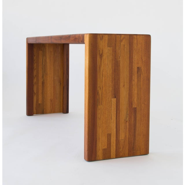 Oak Lou Hodges for California Design Group Solid Wood Console Table For Sale - Image 7 of 11