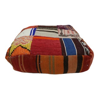 1970s Vintage Moroccan Floor Cushion Cover For Sale