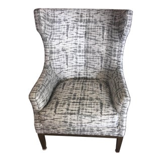 Early 21st Century Vintage Wingback Chair For Sale
