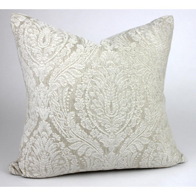 This beautifully soft and plush throw pillow is a perfect accent for any style room. The Telafina fabric is a gorgeous...
